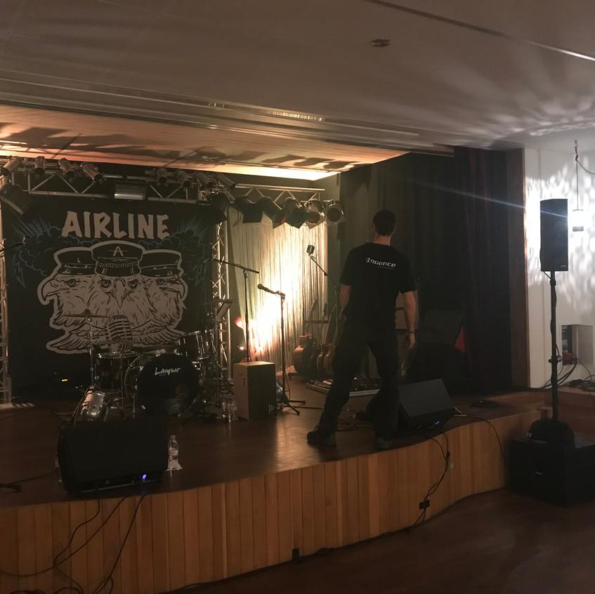 Airline Plattentaufe