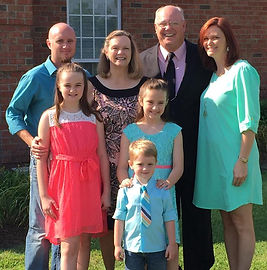Dr. Bill Jenkins and Family group photo