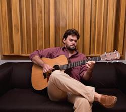 Preston Snydner playing guitar