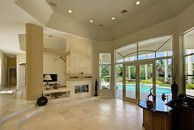 Photo of interior of pool home in Jupiter, FL