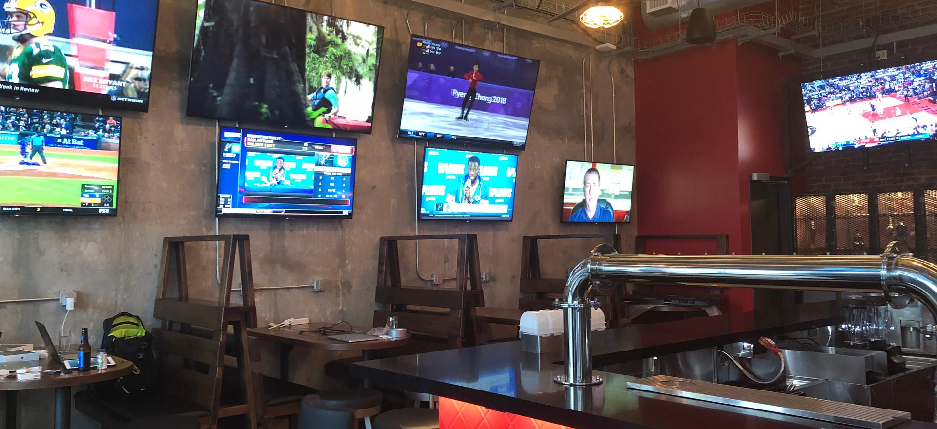 •Sports Bar, St Kitts, V.I.