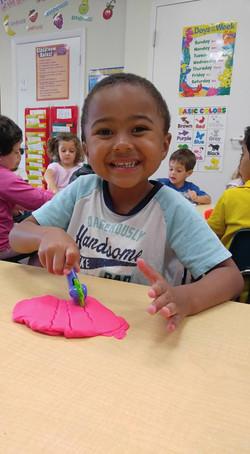 CITG Preschool boy smiling