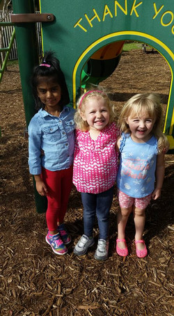 CITG Preschool Group of smiling kids