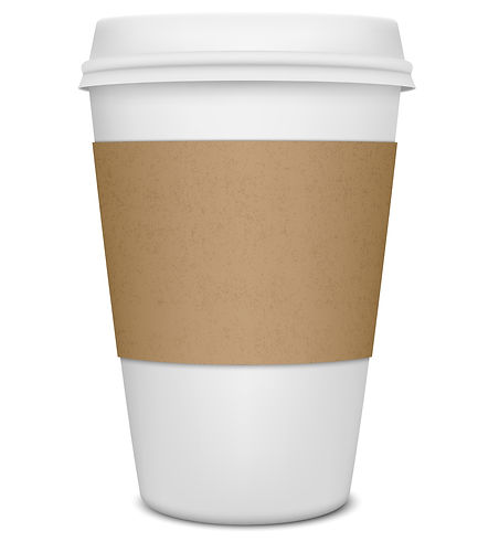 Large Coffee Cup with J29 Marketing on it