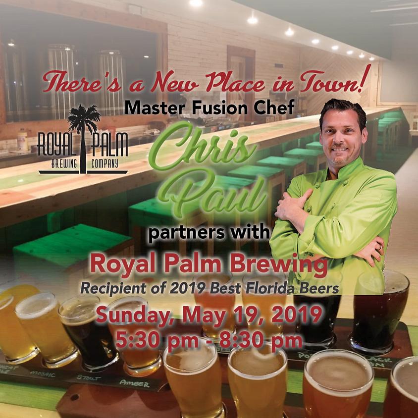 Chef Chris Paul @ Royal Palm Brewing