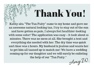 Tan Fairy review and testimonial