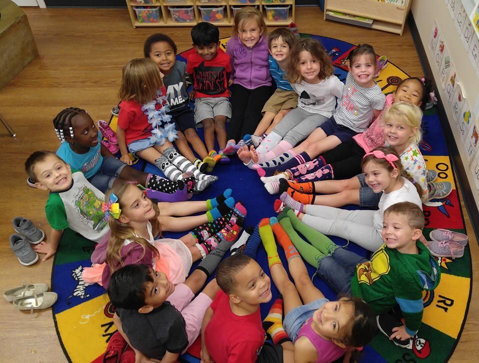 CITG Preschool group of kids