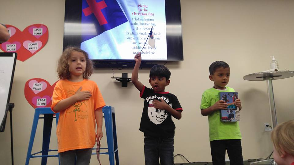 CITG Preschool kids singing