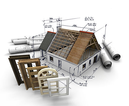Image of home being built