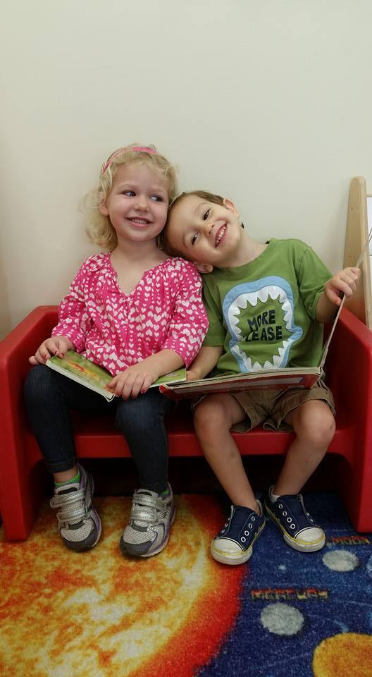 CITG Preschool kids reading