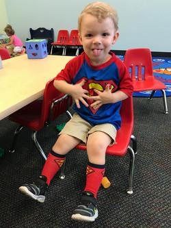 CITG Preschool superman boy