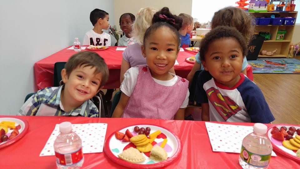 CITG Preschool children smiling