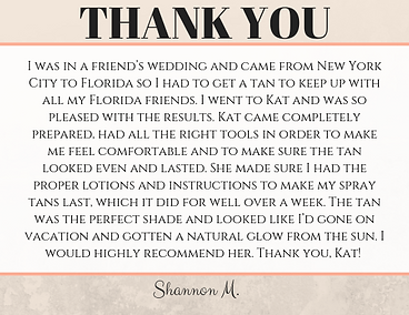 Tan Fairy Review & testimonial