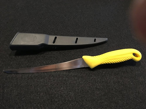 "8"" Fish Fillet Knife with sheath"