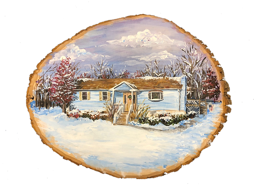 Home Painting on Wood