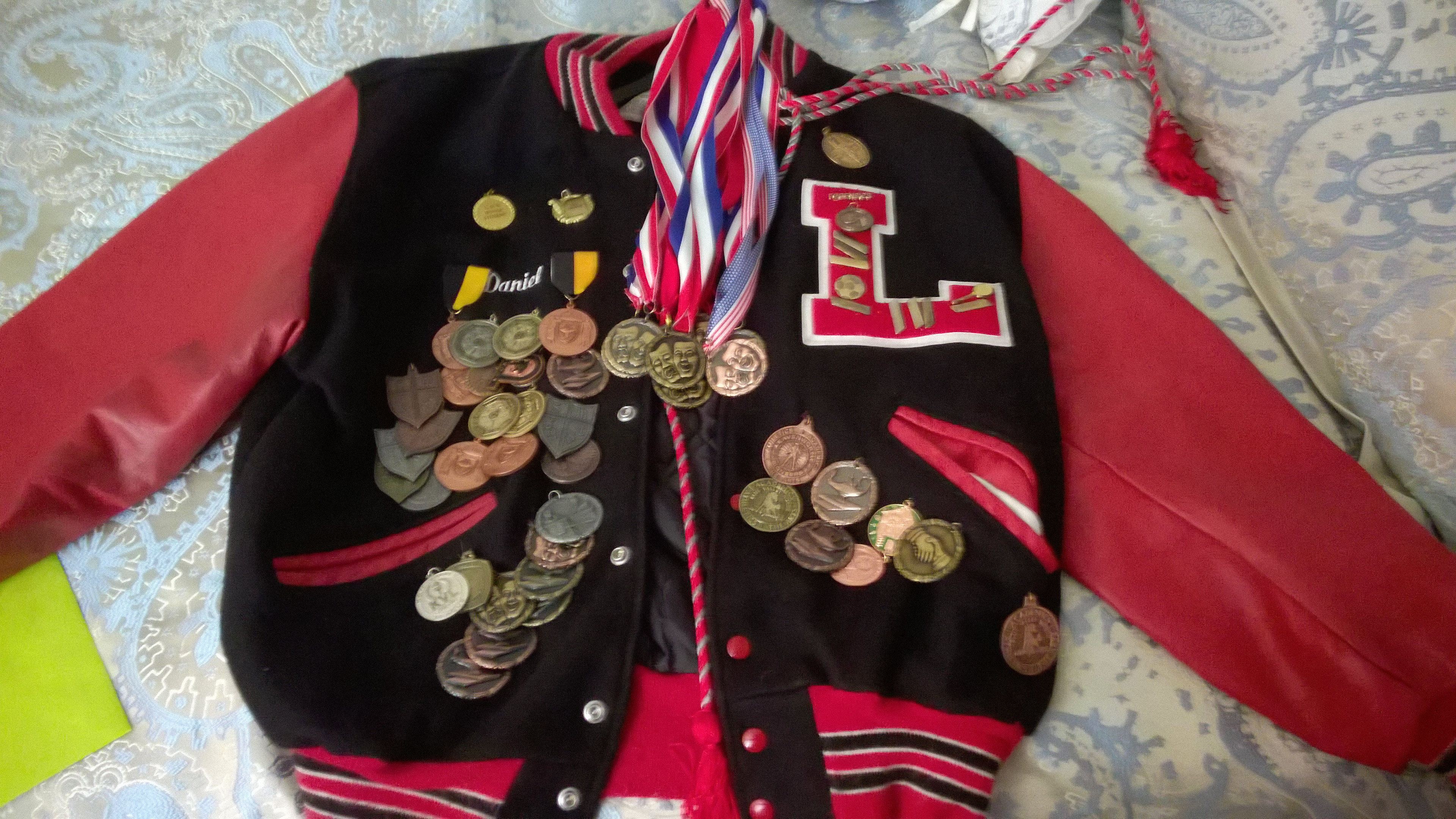 my high school letter jacket