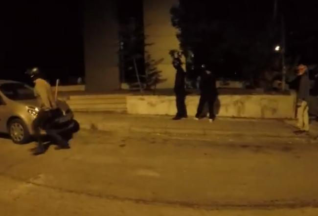 Ρουβίκωνας: Επίθεση στο ΥΠΕΞ στο όνομα της αλληλεγγύης στον παλαιστινιακό λαό!