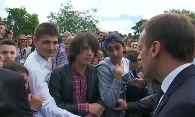 Μαθήματα επανάστασης από τονφιλελέπρόεδρο της Γαλλίας, Μακρόν!