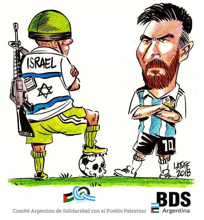 Άκυρο έριξε η εθνική ομάδα της Αργεντινής στο Ισραήλ!