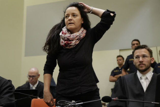 Ισόβια για τις 10 δολοφονίες της νεοναζί Μπεάτε Τσέπε