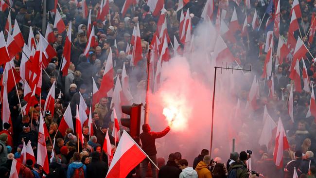 Πολωνία: «Το μέλλον της Ευρώπης είναι λευκό»