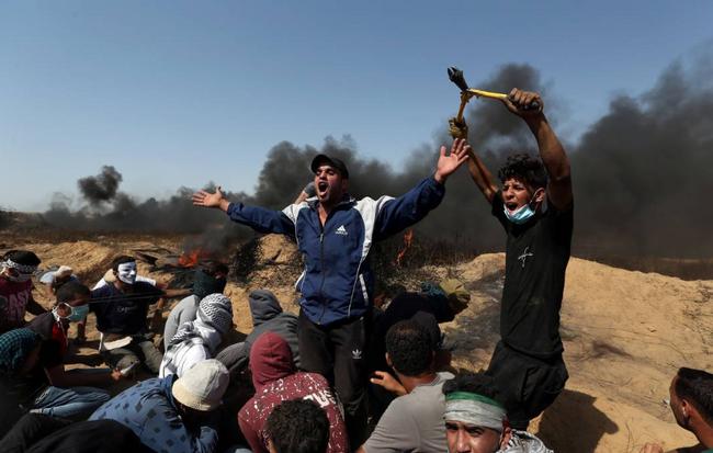 Νέα αιματοχυσία χθες στη Λωρίδα της Γάζας με απολογισμό 4 νεκρούς και 400 τραυματίες