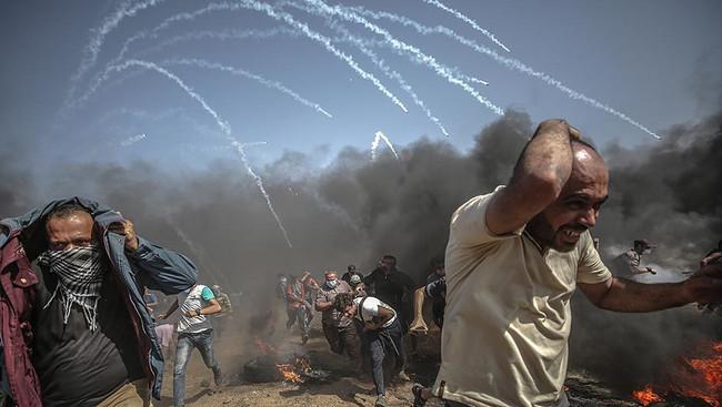 Τα εγκλήματα του Ισραήλ συνεχίζονται -2 νεκροί και 270 τραυματίες χθες