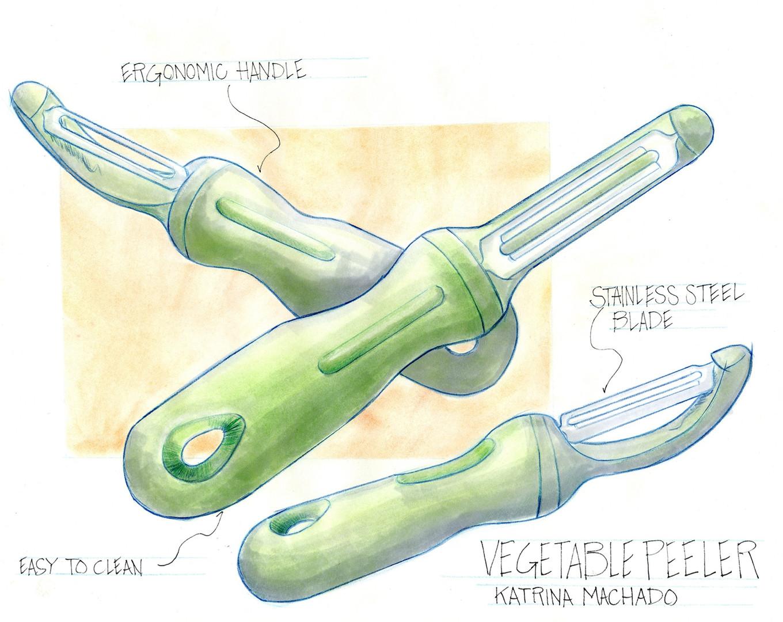 Sketches: Vegetable Peeler