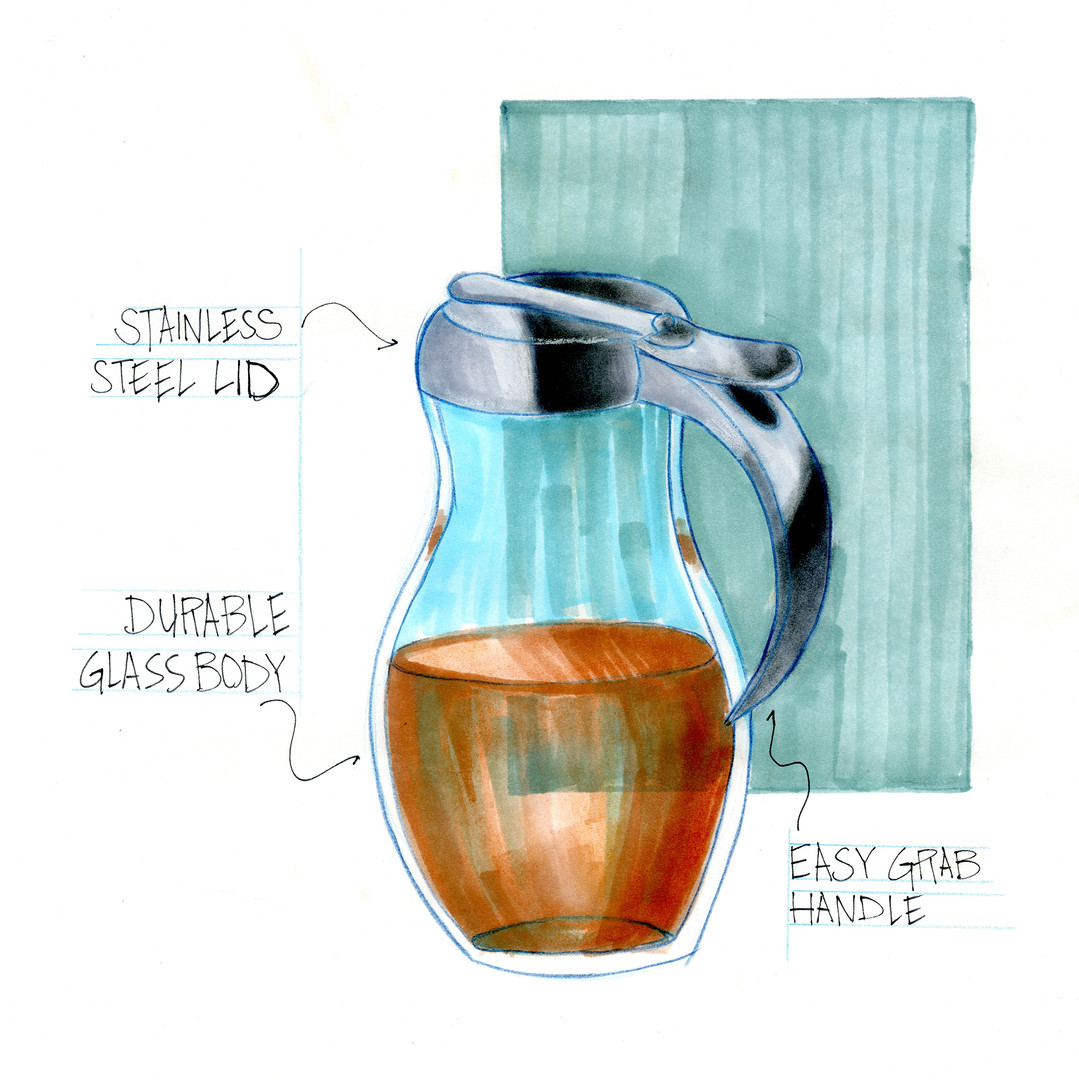 Sketches: Syrup Pour
