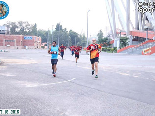 Champions Run, New Delhi, India - Sept 18th, 2016