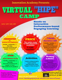 Virtual HIPE Class Offerings
