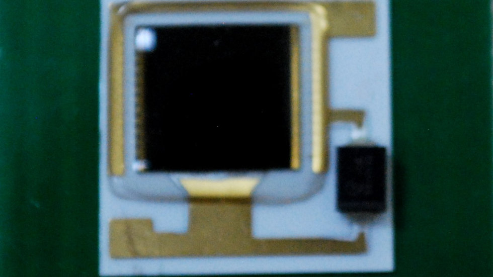 Solar Cell Receiver, 10mm x 10mm