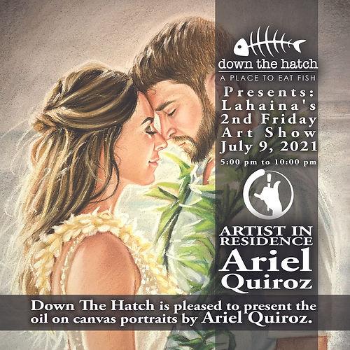 Art Show Ariel AIR Down the Hatch square