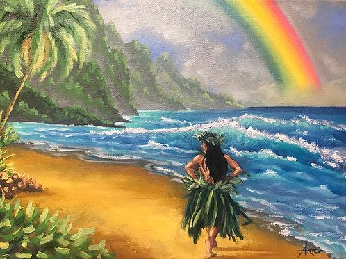 Kauai Rainbow (PRINT)