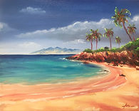 Kapalua bay oil on Canvas 8x10.jpg