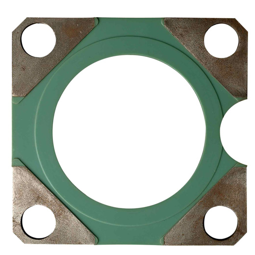 Polyurethane metal shutter