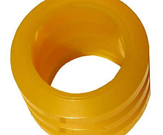 Polyurethane rings for conveyor belt