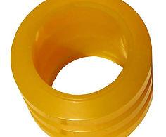 Polyurethane rings for conveyor belt
