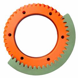 Polyurethane gear wheel