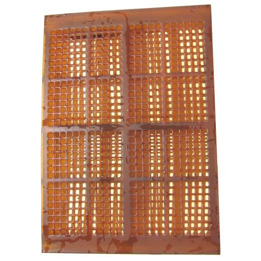 Polyurethane screen