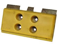 Polyurethane metal holder