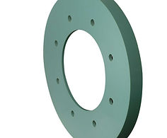 Polyurethane discs, cups and pigs for pipeline cleaning