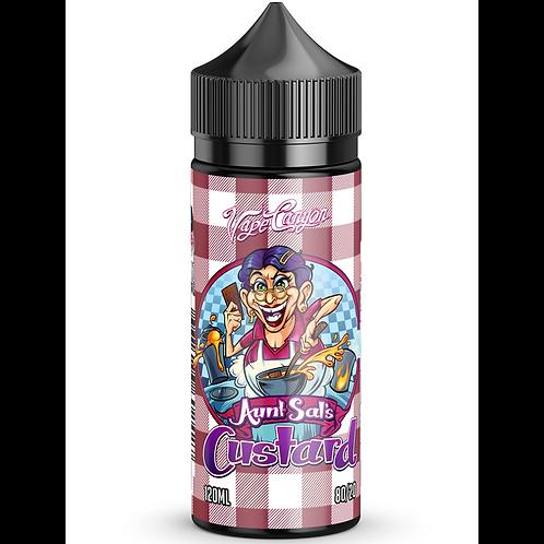 Aunt Sal's Custard by Vape Canyon - E-Liquid