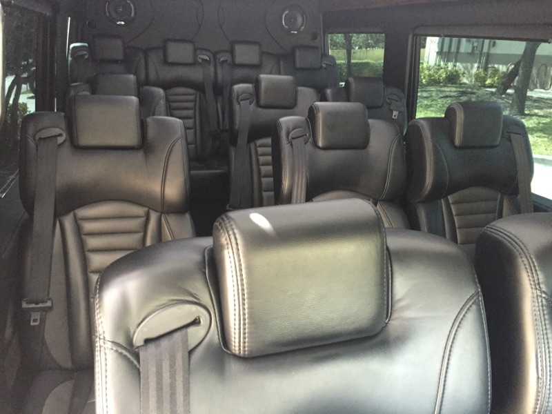 luxury transportation service Miami