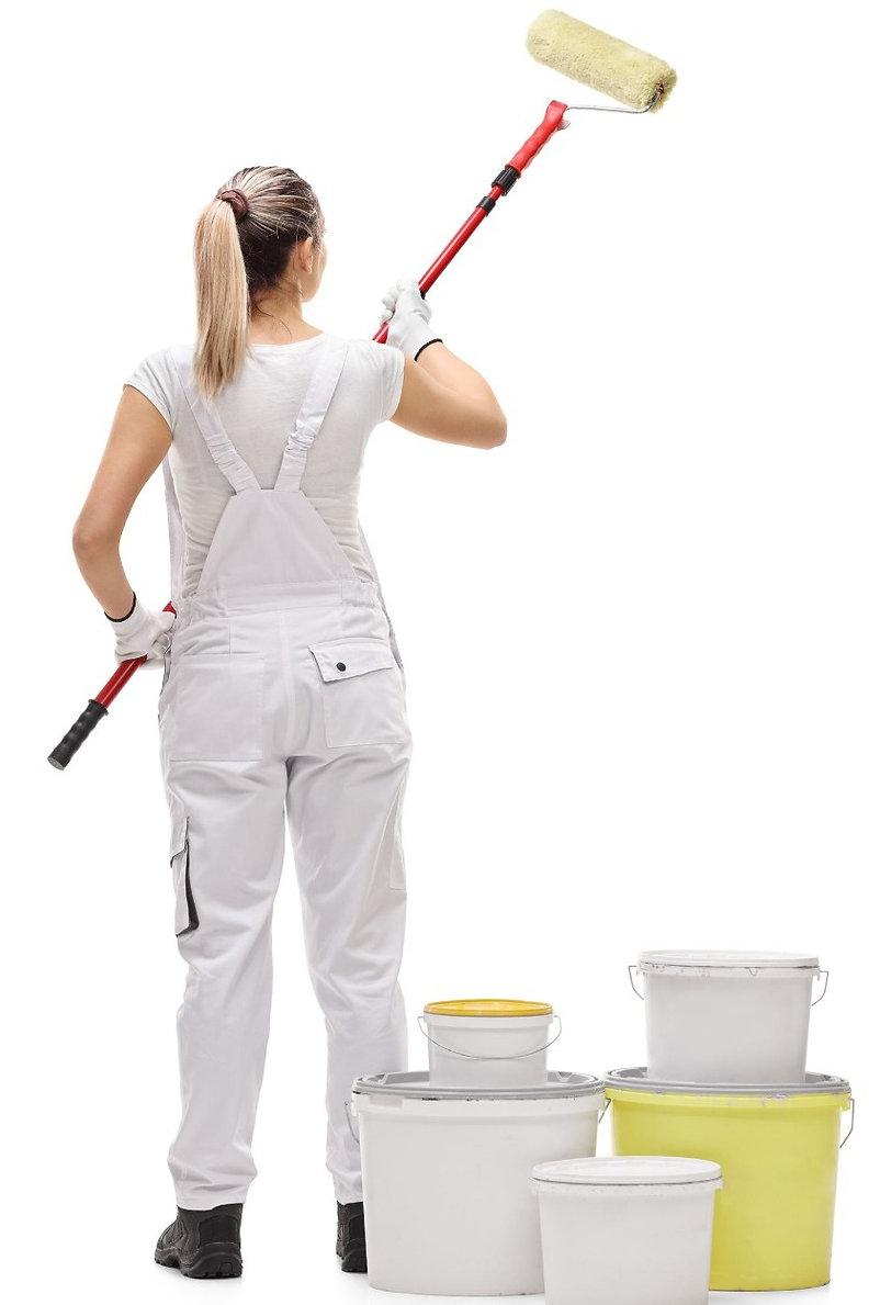 female decorator lady painting women painters woman painting and decorating female decorating company