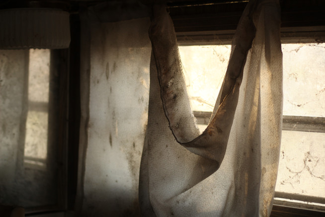 """Dirty Curtain"""