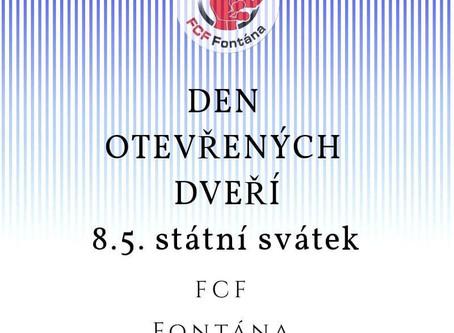 DEN OTEVŘENÝCH DVEŘÍ 8.5.