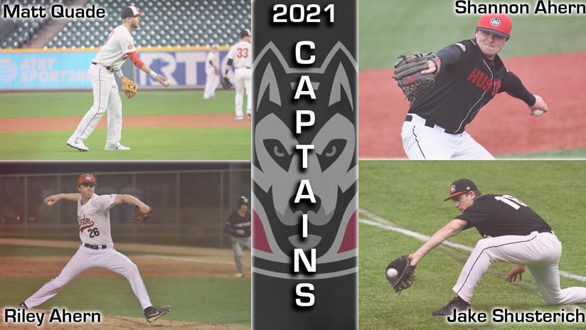 2021 SCSU Baseball Captains