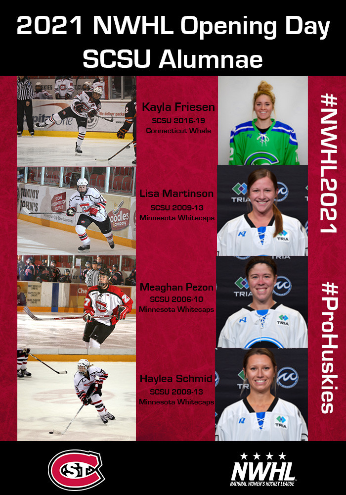 2021 SCSU WHKY NWHL Opening Day Alumnae