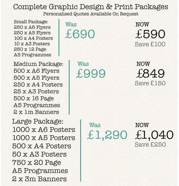 Special offers and packages